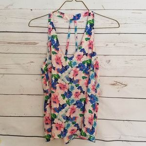 Sweet Forever 21 Floral Tank
